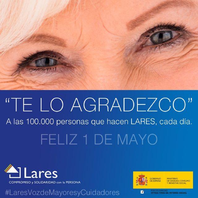 LARES rinde homenaje a las 100.000 personas que hacen posible su compromiso de cuidado con pasión y compasión - 1, Foto 1