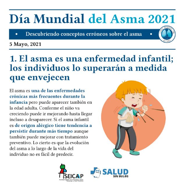 Las falsas creencias dificultan el control del asma en niños y adolescentes - 1, Foto 1