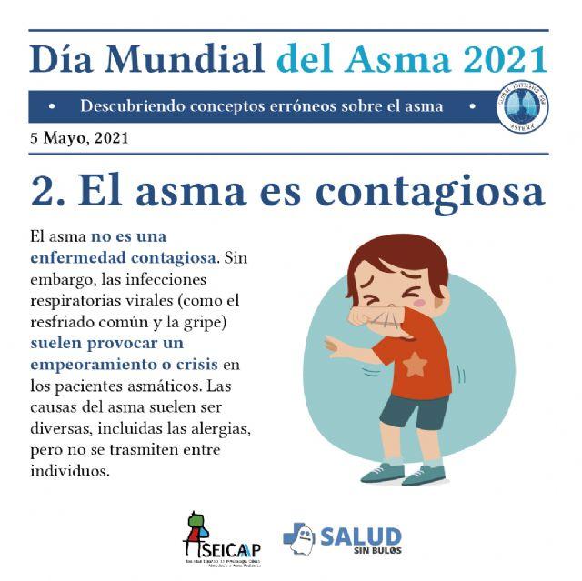Las falsas creencias dificultan el control del asma en niños y adolescentes - 2, Foto 2