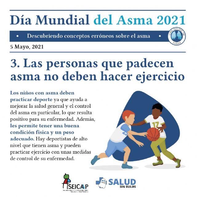 Las falsas creencias dificultan el control del asma en niños y adolescentes - 3, Foto 3