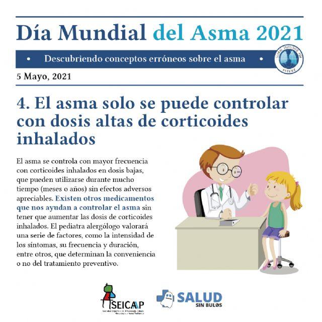 Las falsas creencias dificultan el control del asma en niños y adolescentes - 4, Foto 4