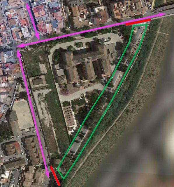 La Carretera de la Algameca permanecerá cortada tres días por trabajos de poda y tala de árboles - 1, Foto 1