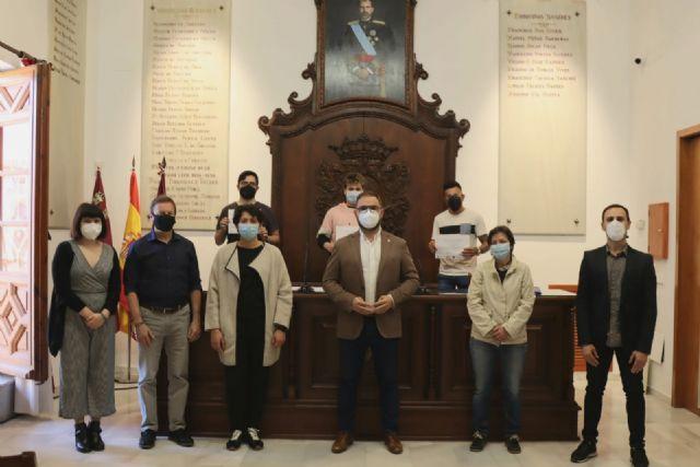 El alcalde entrega los diplomas a los alumnos y alumnas del programa de formación TERNIBEN LORCA 20-21 - 1, Foto 1