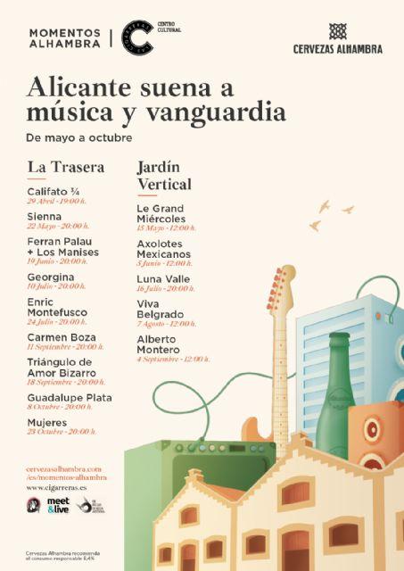 Triángulo de Amor Bizarro, Enric Montefusco y Viva Belgrado entre otros visitarán Momentos Alhambra Las Cigarreras - 1, Foto 1