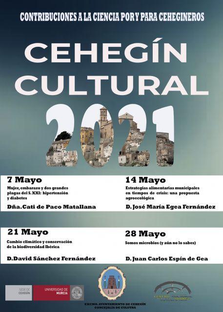 """La semana que viene comienza el ciclo de conferencias """"Cehegín Cultural"""", dedicado a la ciencia - 1, Foto 1"""