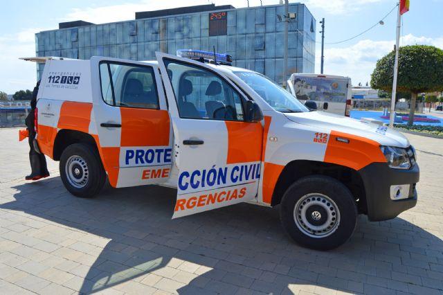 Protección Civil incorpora un vehículo todoterreno y un sistema seguro de telecomunicaciones - 1, Foto 1