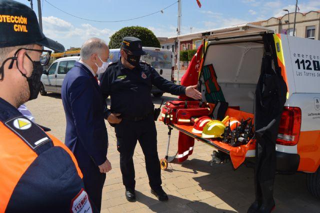Protección Civil incorpora un vehículo todoterreno y un sistema seguro de telecomunicaciones - 2, Foto 2