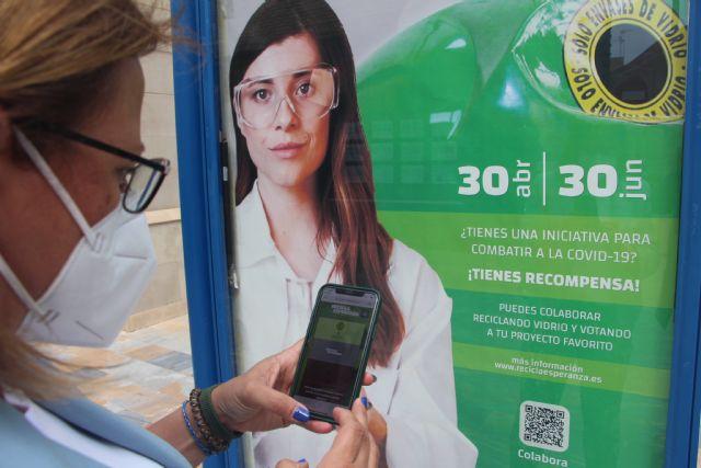 Los ciudadanos de la Región de Murcia unidos por el reciclaje de vidrio y la solidaridad frente a la COVID-19 - 1, Foto 1