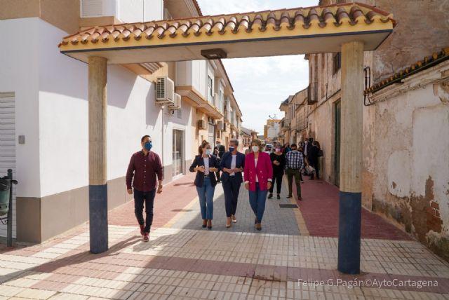 Pozo Estrecho estrena nueva red de saneamiento y calles semipeatonalizadas en el centro del pueblo - 1, Foto 1