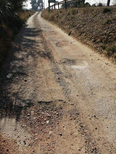 Arreglo de las vías de servicio de la Nacional 344 a su paso por Las Torres de Cotillas - 2, Foto 2