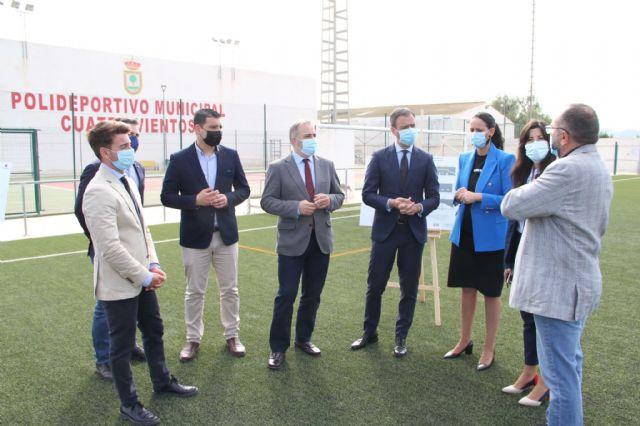 El Plan de Obras y Servicios de la Comunidad invierte 596.000 euros en Fuente Álamo - 1, Foto 1