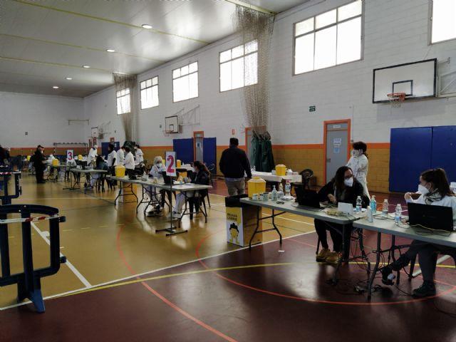 El Alcalde de Molina de Segura anuncia que el municipio recupera su punto de vacunación masiva frente al COVID-19 a partir del 9 de mayo - 1, Foto 1