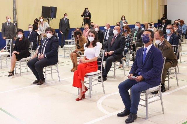 [La Reina preside el VI Congreso Educativo sobre Enfermedades Raras, Foto 2