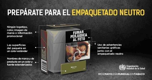 El Ayuntamiento se une a la campaña de la Organización Mundial de la Salud (OMS) para celebrar el Día Mundial sin Tabaco