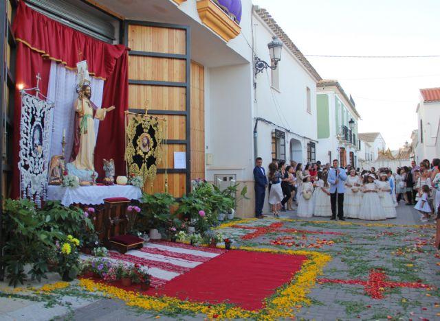 Puerto Lumbreras celebra el I Concurso de Altares y Balcones con motivo de la Festividad del Corpus Christi - 1, Foto 1