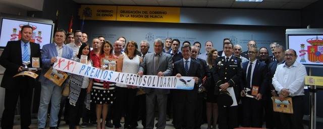 Entrega de los premios al Gesto Solidario en sus XXI Edición
