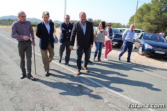 Mejorarán la carretera Aledo-Bullas en la zona de acceso al Parque Regional de Sierra Espuña, Foto 1