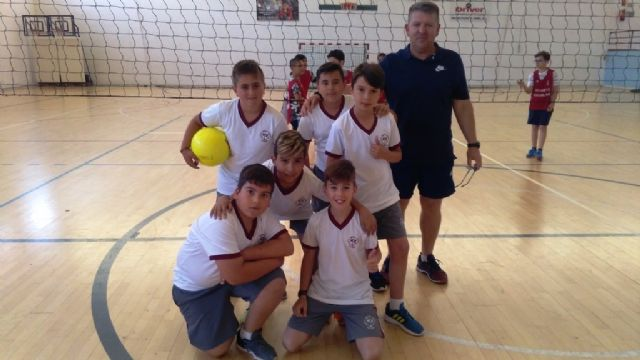 The Local Stage of Minivoley alevín of School Sports has the participation of 126 schoolchildren