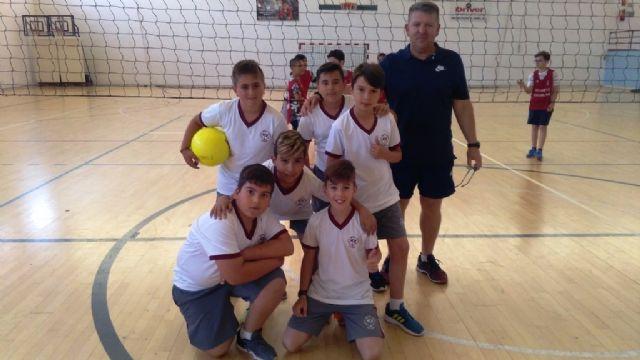 La Fase Local de Minivoley alevín de Deporte Escolar cuenta con la participación de 126 escolares