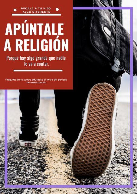 El 69,62% del alumnado de la Región elige Religión Católica, 8 puntos por encima de la media nacional