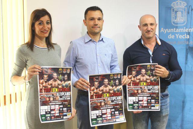 El auditorio municipal acogerá el 1er Trofeo Nacional 'Ciudad de Yecla' de fisioculturismo - 1, Foto 1