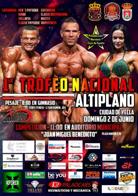 El auditorio municipal acogerá el 1er Trofeo Nacional 'Ciudad de Yecla' de fisioculturismo - 2, Foto 2