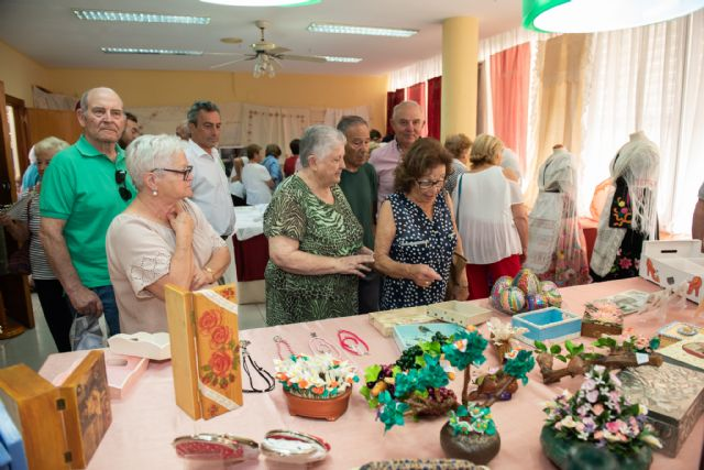 Exposición de talleres para cerrar el mayo cultural del centro de personas mayores de Puerto de Mazarrón 2019, Foto 3