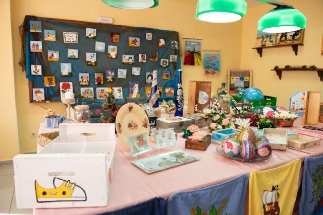 Exposición de talleres para cerrar el mayo cultural del centro de personas mayores de Puerto de Mazarrón 2019, Foto 4