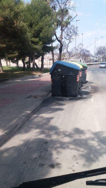 La Policía identifica a un vecino como presunto autor del incendio de contenedores - 3, Foto 3