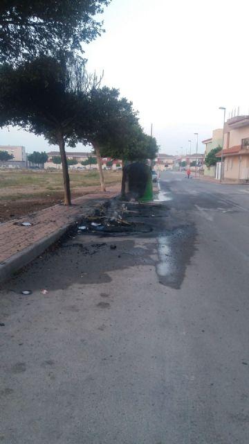 La Policía identifica a un vecino como presunto autor del incendio de contenedores - 4, Foto 4