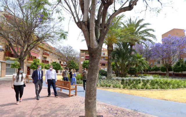 Puente Tocinos estrena una zona verde de 7.200 m2 en el corazón de la pedanía - 1, Foto 1