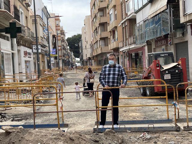 Populares Águilas pide a los vecinos que se solidaricen con los comerciantes de Conde de Aranda en esta dura etapa - 1, Foto 1