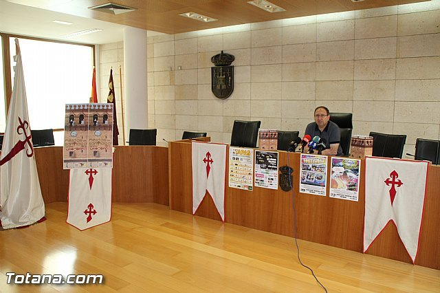 Se presenta el programa de las Fiestas de Santiago Totana 2016 - 3, Foto 3