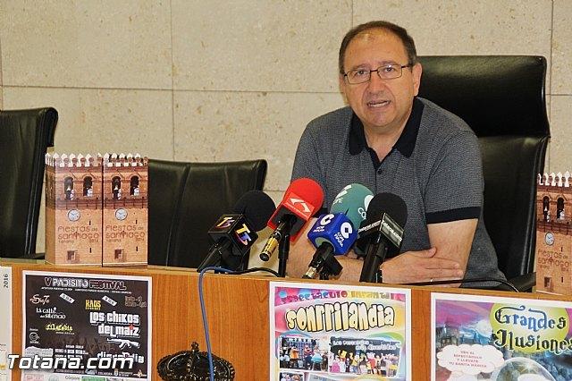 Se presenta el programa de las Fiestas de Santiago Totana 2016 - 4, Foto 4