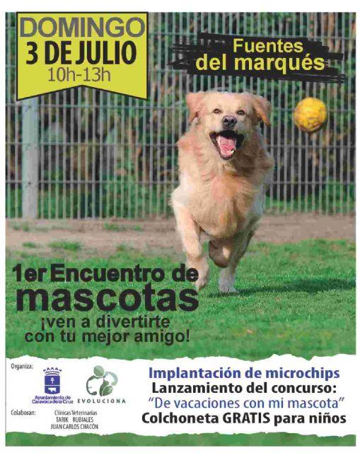 Caravaca celebra este domingo el 'I Encuentro de mascotas' en las Fuentes del Marqués - 1, Foto 1
