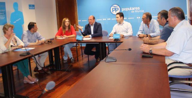 Teodoro García: La Región de Murcia necesita un gobierno ya en España para no perder ni un minuto - 2, Foto 2