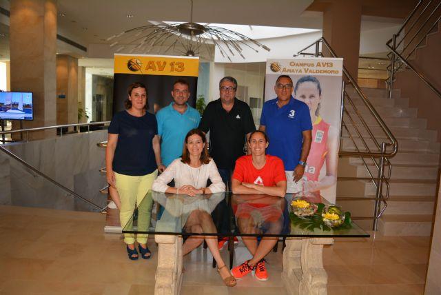La alcaldesa visita a los participantes en el Campus de Amaya Valdemoro - 2, Foto 2