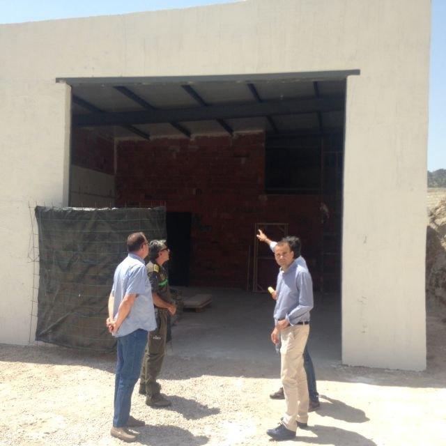 Agricultura amplía y mejora la base de las Brigadas Forestales Terrestres del municipio de Ricote - 1, Foto 1