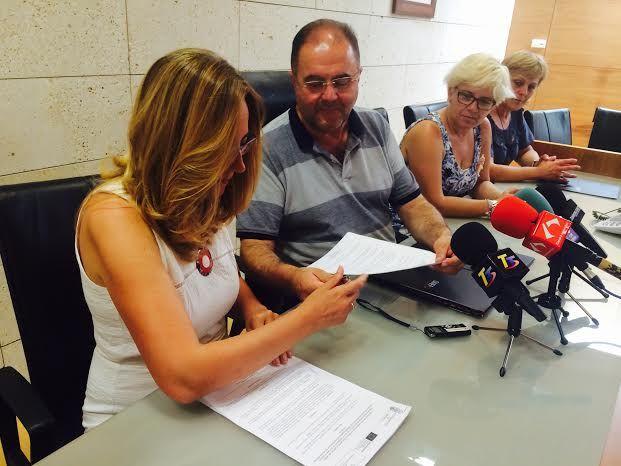 El Ayuntamiento suscribe un convenio con la OMEP para el fomento y consolidación del empresariado femenino en este municipio