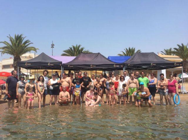 D´Genes despide el curso con una jornada de convivencia en Puerto de Mazarrón