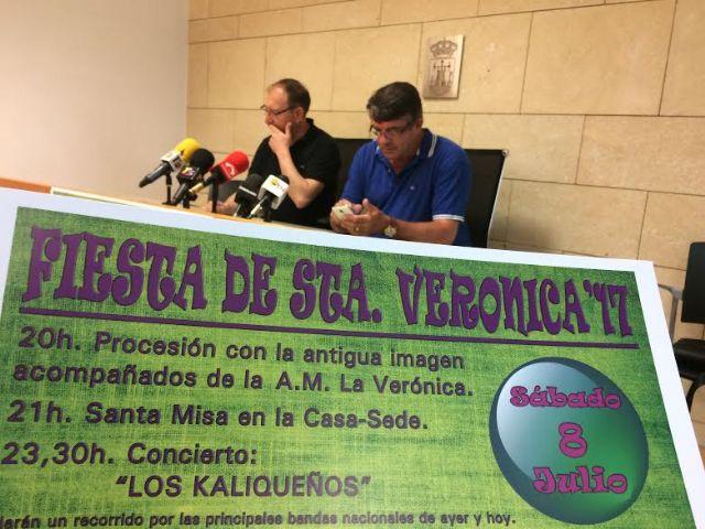 La 8ª Fiesta de la Santa Verónica se celebrará el próximo 8 de julio dentro del programa de festejos patronales de Santiago