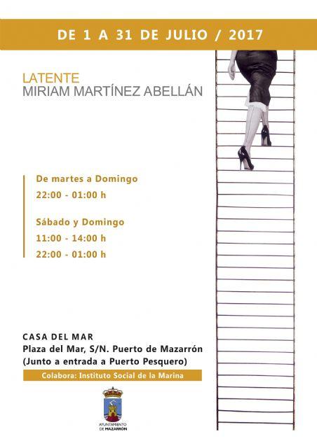 Miriam Martínez Abellán expondrá Latente  en la Casa del Mar hasta el 31 de julio - 1, Foto 1