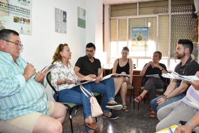 Los integrantes de la Plataforma del Voluntariado de la Región aportan sus propuestas al Plan de Juventud - 1, Foto 1