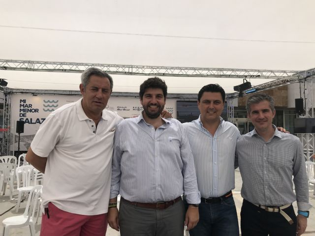 Fernando López Miras asiste a las actividades organizadas con motivo de las II Jornadas Gastronómicas Mi Mar Menor de Salazón - 1, Foto 1