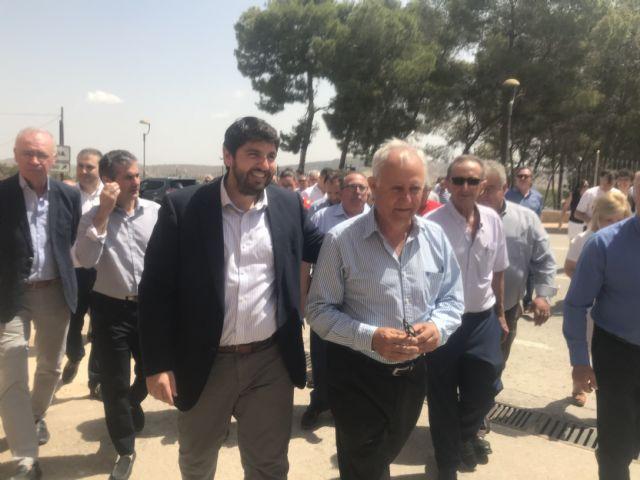 López Miras: Los gobiernos que no quieran trasvases ni un acuerdo nacional para solucionar el problema del agua, me van a tener enfrente - 2, Foto 2