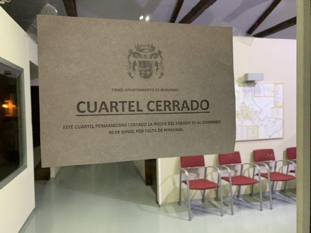 UxA denuncia que el cuartel de la Policía Local de Alguazas está cerrado por falta de personal - 3, Foto 3