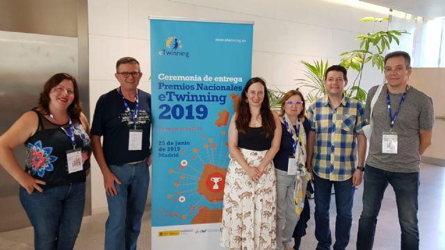 El instituto Vicente Medina de Archena recibe uno de los premios nacionales eTwinning 2019 - 1, Foto 1