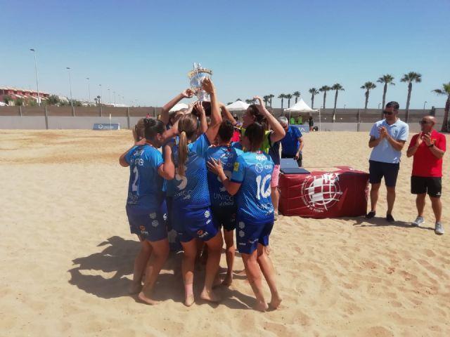 El Playas de San Javier, campeón de la liga nacional de fútbol playa femenino - 1, Foto 1