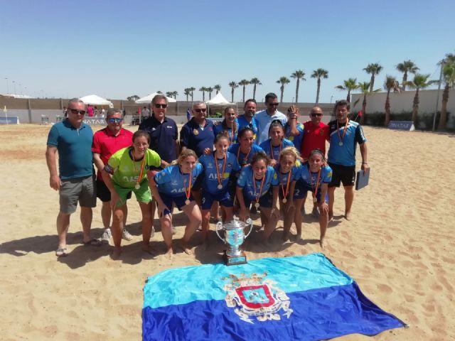 El Playas de San Javier, campeón de la liga nacional de fútbol playa femenino - 2, Foto 2