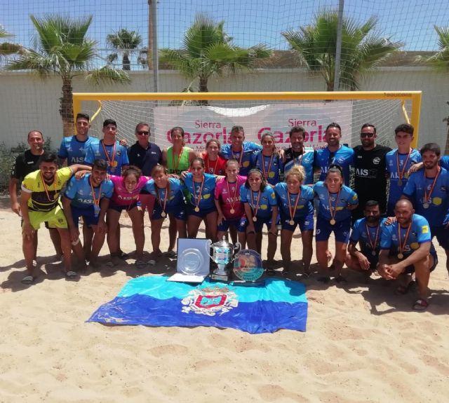El Playas de San Javier, campeón de la liga nacional de fútbol playa femenino - 3, Foto 3